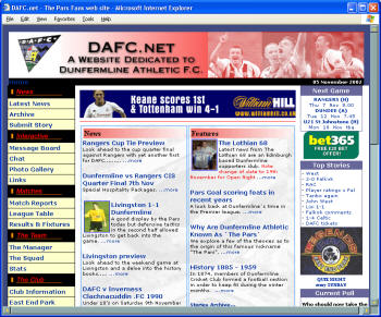 DAFC.net - the Pars fans Premier web site
